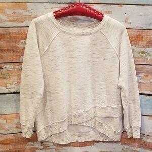 NWOT NEVER WORN Calvin Klein White Marbled Sweater
